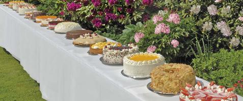 Festliche kuchen